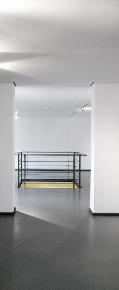 Glimmer auf Wand, 203 x 203 cm